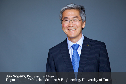 Jun Nogami, Professor & Chair