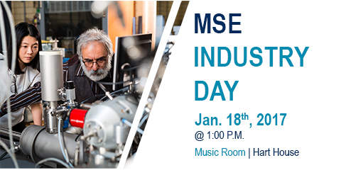 MSE Industry Day @ Hart House  | Toronto | Ontario | Canada