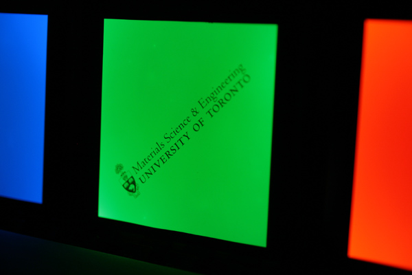 Cl-OLEDs, U of T Organic Optoelectronics Research Group