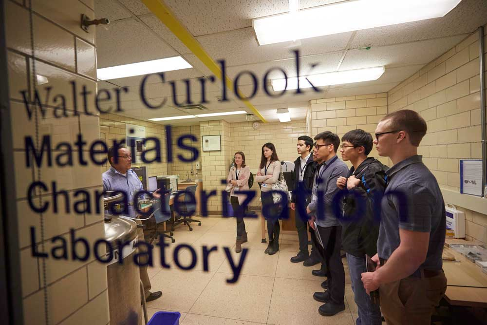 Walter Curlook Lab tour