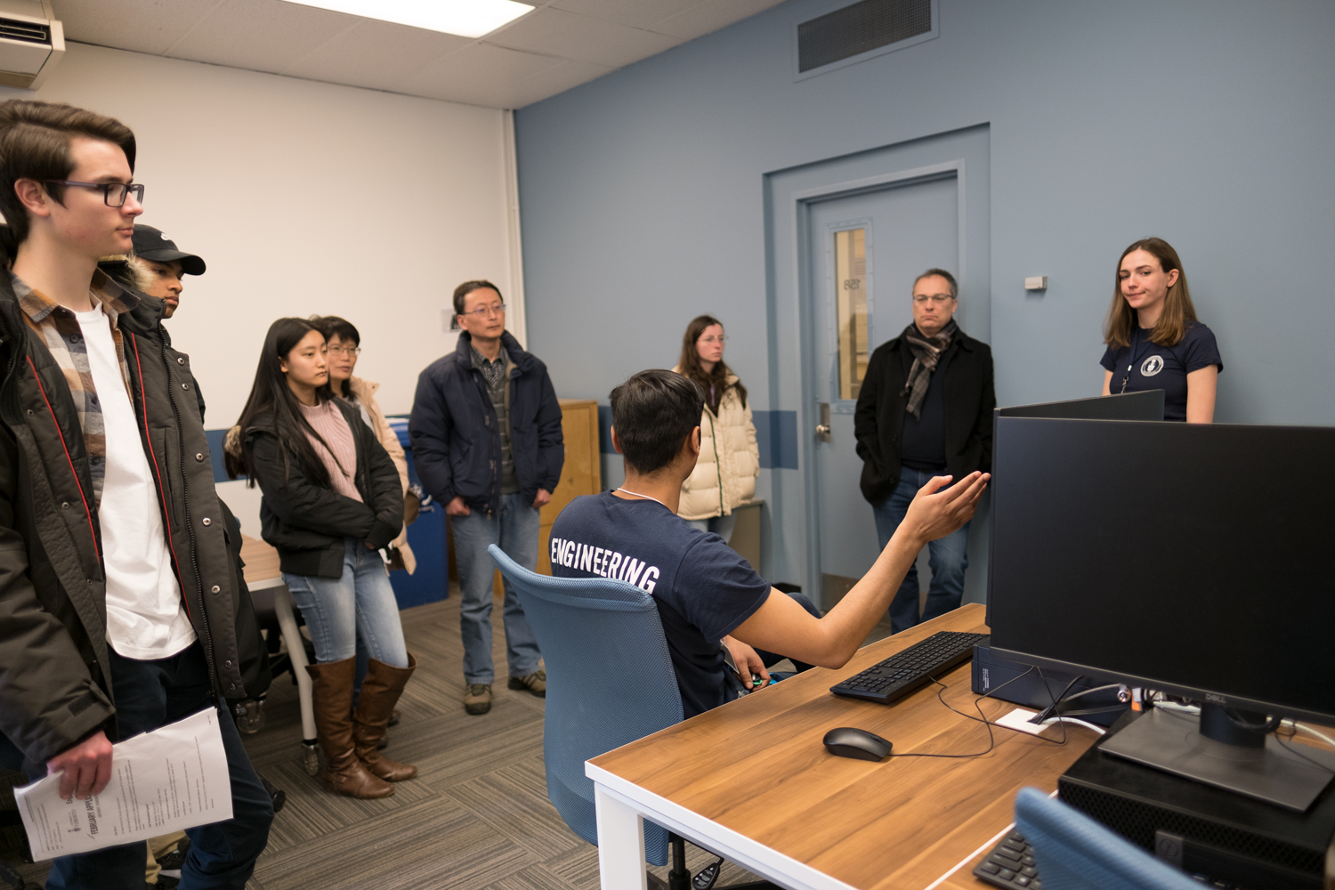 Applicant Event - Computer Lab tour